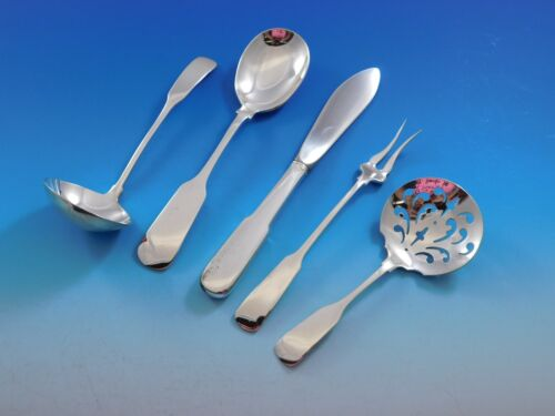 Old English Tipt by Gorham Sterling Silver Essential Serving Set Small 4-piece