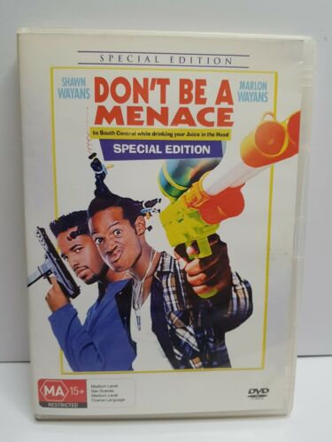 Don't be a Menace DVD , FREE POSTAGE WITHIN AUSTRALIA REGION 4