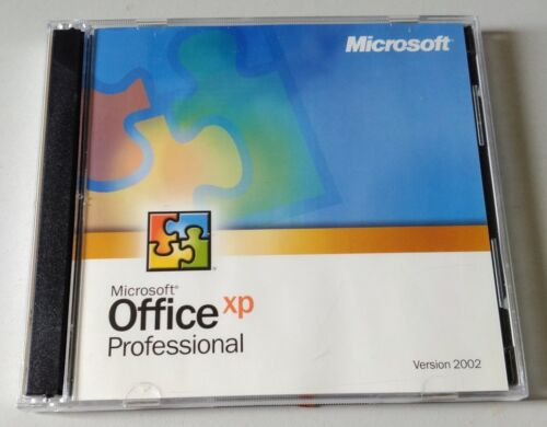Microsoft Office 2002 Professional - Retail version with genuine CDs,product key