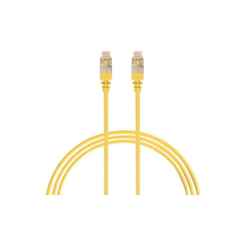 Cat 6A 30 Awg Network Cable Yellow