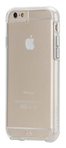 Case-MATE iPhone 6S & 6 Naked Tough Double Layer ShockProof Case Cover Clear