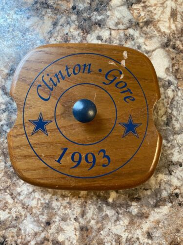 Colwood Lid for Longaberger 1993 Inaugural Basket Clinton Gore