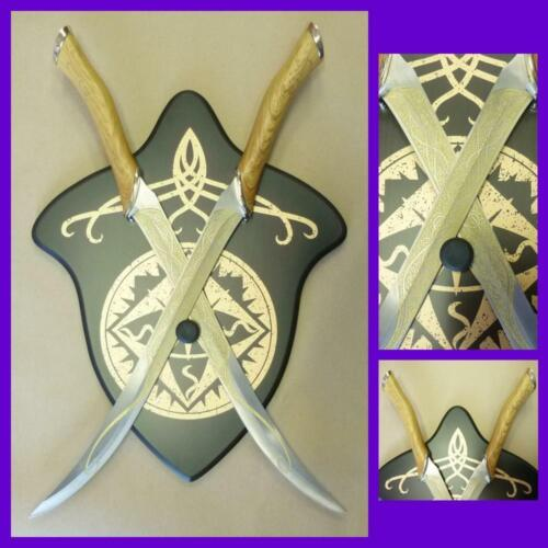 NEW War Sword The Lord of the Rings Elven Legolas Fighting Knives Replica LOTR
