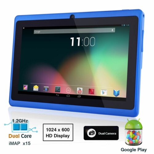 "7"" Android 4.4 Kids Children Tablet PC 512+8G Quad Core WIFI 2 Camera Phablet"