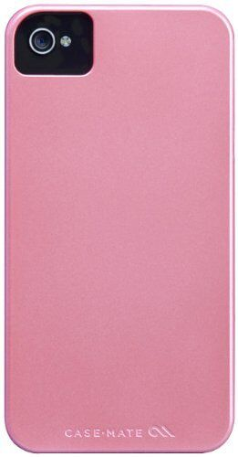 CASE-MATE IPHONE 4S & 4 BARELY THERE ULTRA SLIM THIN HARD CASE COVER BABY PINK