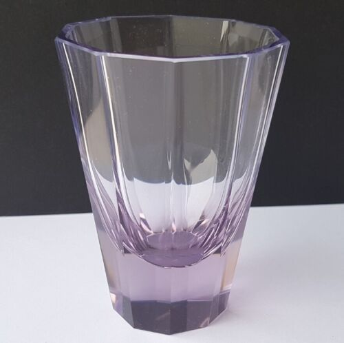 Alexandrite Glass Cup/Drinking Glass Moser Faceted Um 1950 L405