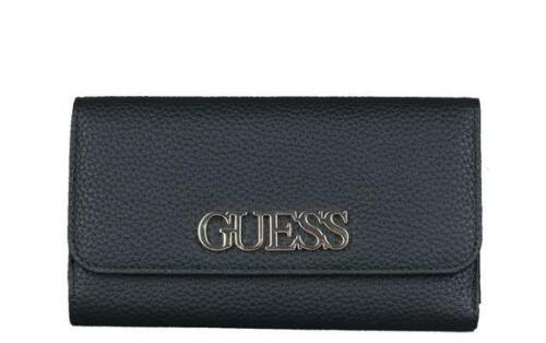 PORTAFOGLIO DONNA Guess uptown chic slg pocket trifold BLACK SWVG7301650BLA