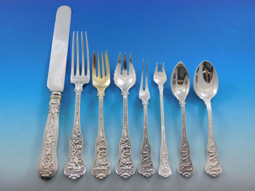 Olympian by Tiffany and Co Sterling Silver Flatware Set 12 Service 96 pcs Dinner