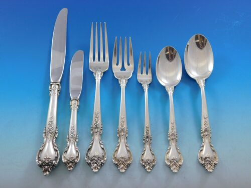 Delacourt by Lunt Sterling Silver Flatware Set for 8 Service 70 pieces