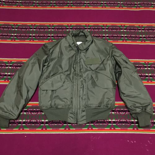 EXCELLENT COND USED ONCE VINTAGE 1993 CWU 45/P US AIR FORCE FLIGHT JACKET LOriginal Period Items - 156451