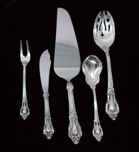 (5) Lunt Eloquence Sterling Silver  Serving Pieces - J1310