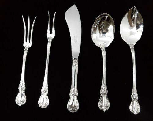 (5) Towle Old Master Sterling Silver Serving Pieces - J1591