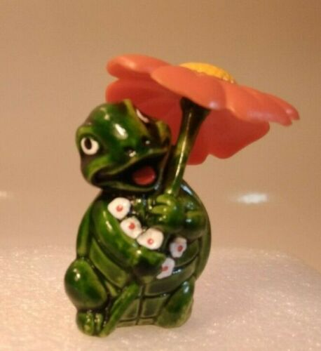 Kinder Surprise / Tiny Tortues / Tortue Flora n° 8 /1993