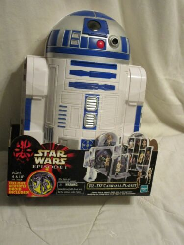 1999 Star Wars Episode 1 R2-D2 Carryall Playset with Exclusive Destroyer Droid