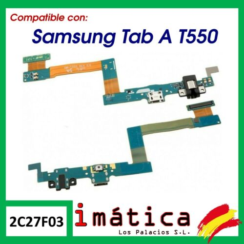 """Cable Flex Charge For Samsung Galaxy Tab A 9.7 """" T550 T555 Audio Connector USB"""