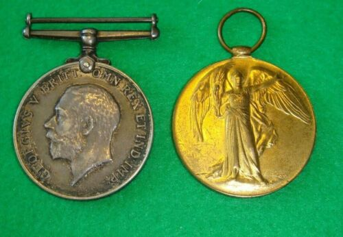 Original WWI medal pair to the Coldstream Guards presumed KIA1914 - 1918 (WWI) - 13962