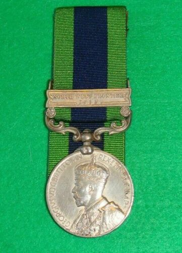 1909 India General Service Medal with North west frontier 1935 bar1914 - 1918 (WWI) - 13962