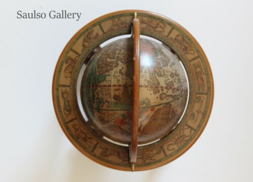 Vintage 1950's 1507 globe made in Italy from prominent estate collection