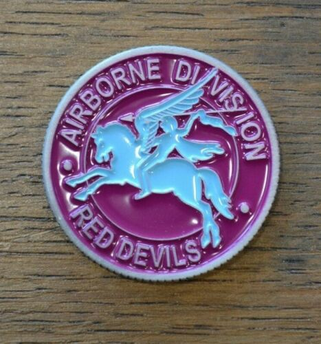 COIN MEDAILLE BRITISH AIRBORNE RED DEVILS REPLICA D-DAY