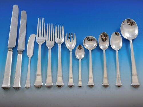 Windham by Tiffany and Co Sterling Silver Flatware Service Set 148 pcs Dinner