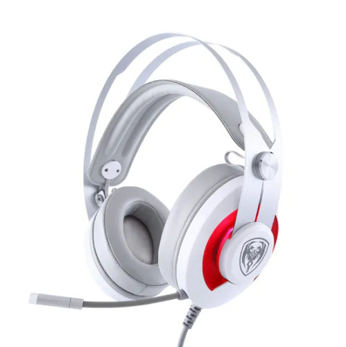 USB Gaming Headset Stereo Surround PC Computer Headphone Mic LED Speed Control