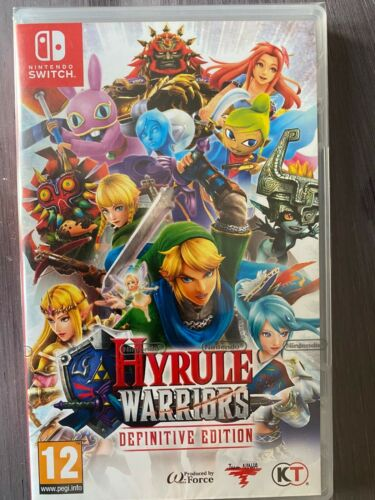 Hyrule Warriors Definitive Edition Nintendo Switch Neuf