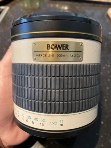 Objectif Bower Mirror Lens 500mm f/6.3 <br/> Very good condition