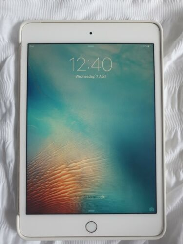 Ipad Mini 4 White  64gb Rose Gold Wifi Only