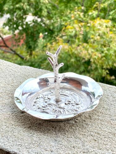 Solid Silver Ring Tree - Joseph & Richard Griffin - Chester - 1910