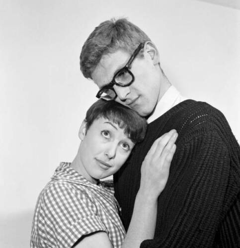 Una Stubbs And Peter Gilmore 1958 OLD PHOTO