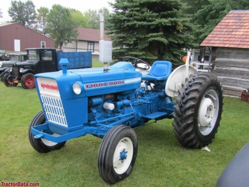 FORD TRACTOR 2000 3000 4000 5000 7000 1965-1975 WORKSHOP SERVICE MANUAL