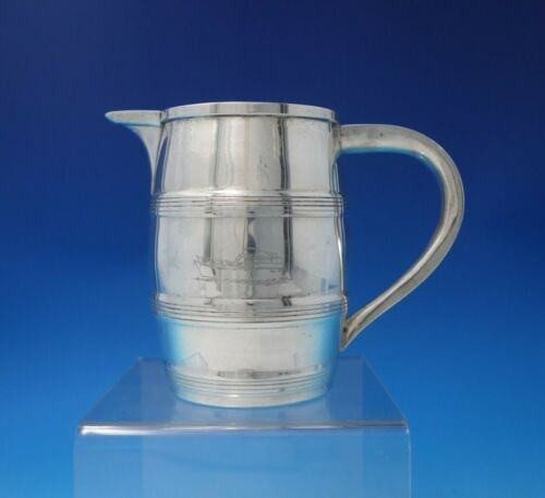 Old Newbury Crafters ONC Sterling Silver Milk Pitcher Reproduction Yacht (#5104)
