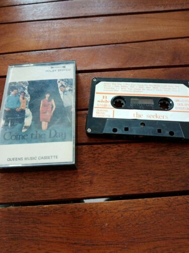 The seekers-come thé day-vintage Cassette audio K7 tape-free port