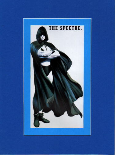 The SPECTRE PROFESSIONALLY MATTED PRINT Alex Ross art Justice Society
