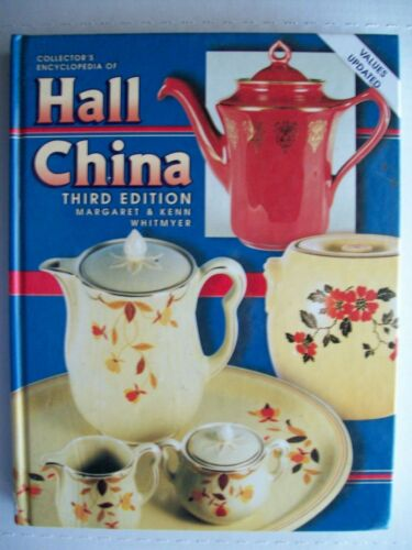 Antique Hall China Big Book $$$ id Price Guide Collector's Book 383 pages