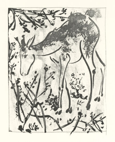 """Pablo Picasso """"The Deer"""""""