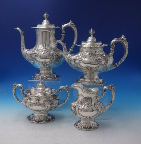 Francis I by Reed and Barton Sterling Silver Tea Set 4-Piece (#5147)