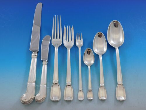 Castilian by Tiffany and Co. Sterling Silver Flatware Service 8 Set 69 pc Dinner