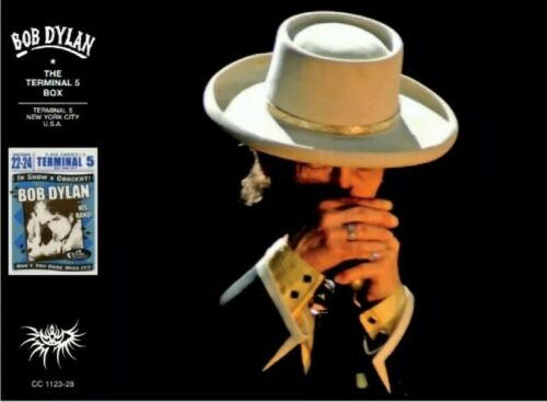 BOB DYLAN – THE TERMINAL 5 BOX 2010 NEW YORK - CRYSTAL CAT ***NEW RELEASE***