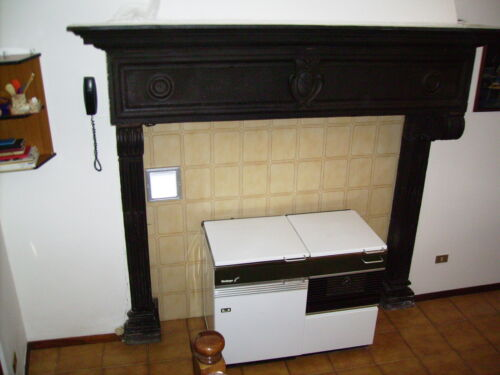 CAMINO ANTICO IN PIETRA - 1500 TOSCANO - ancient Tuscan stone fireplace (1500)