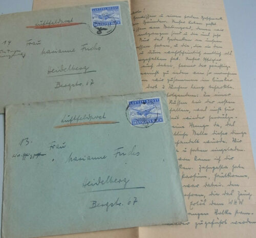 Historiker Walther Peter fuchs : Army Airmail Service 1943 From Russia, 48.