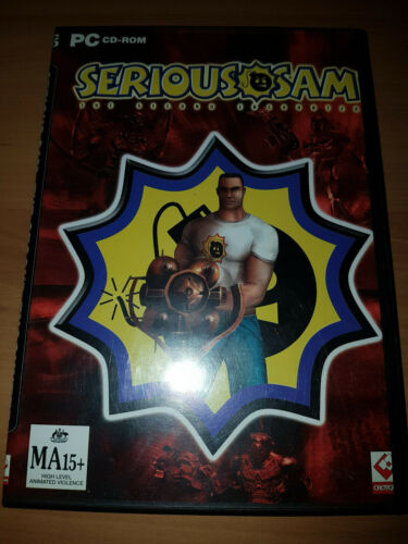 pc game serious sam the second encounter