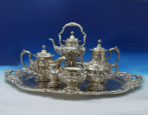 Francis I by Reed and Barton Sterling Silver Tea Set 7-Piece (#5251) Fabulous!