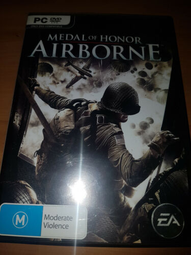 medal of honor airborne  pc game complete with case & manual