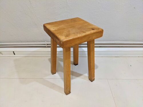 Stool by Charlotte Perriand for Les Arcs 1800 / Tabouret