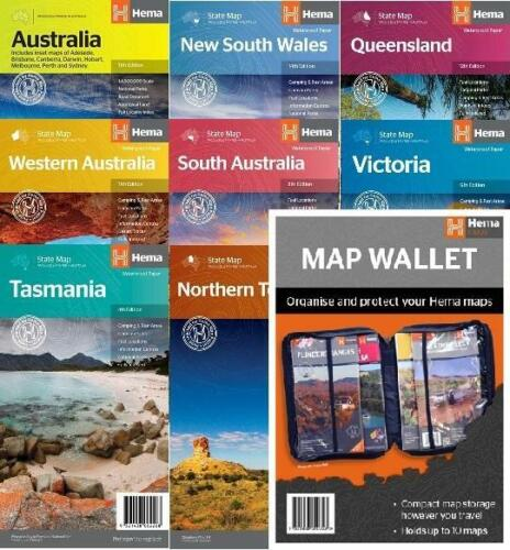 The Big Country Adventure Pack including FREE Map Wallet