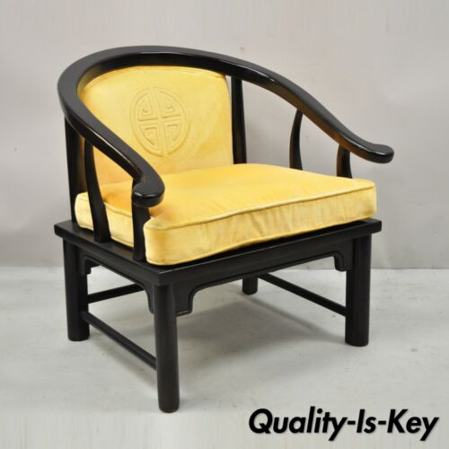 James Mont Style Horseshoe Ming Style Lounge Club Chair by Century