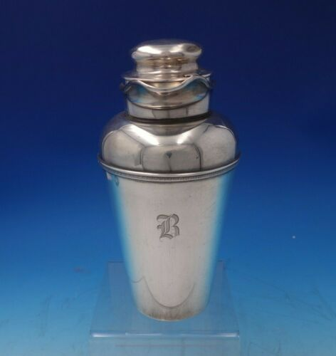 """Etruscan by Gorham Sterling Silver Martini Shaker #WUH 9"""" Tall 19.83 ozt (#5314)"""
