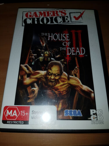house of the dead 3 pc game mint