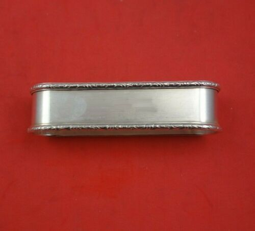 """William and Mary by Lunt Sterling Silver Napkin Ring 3 1/4"""" x 3"""" .8 ozt."""